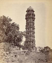 Chittur - Jaya Stambh or Tower of Victory